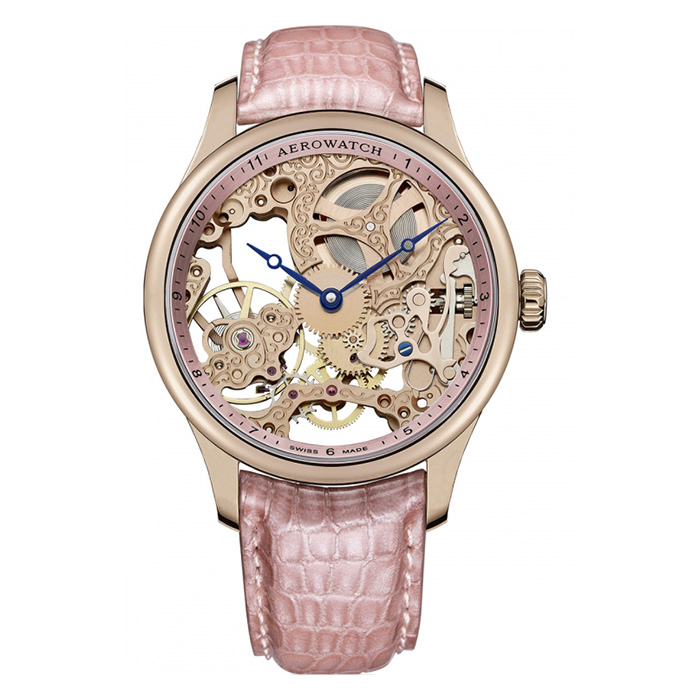 Aerowatch Renaissance Lady Skeleton – A 57981 R114
