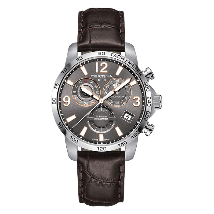 Certina DS Podium Chronograph GMT – C034.654.16.087.01