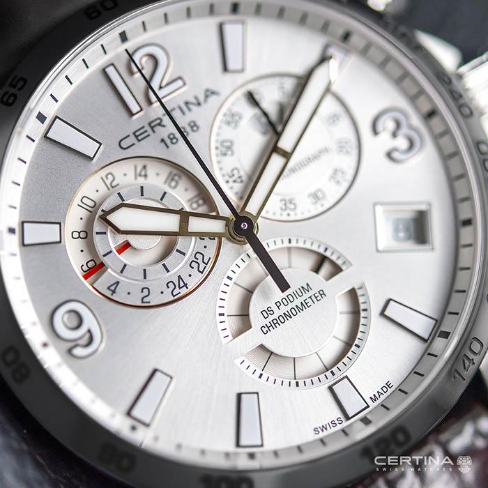 Certina DS Podium Chronograph GMT – C034.654.16.087.01 2