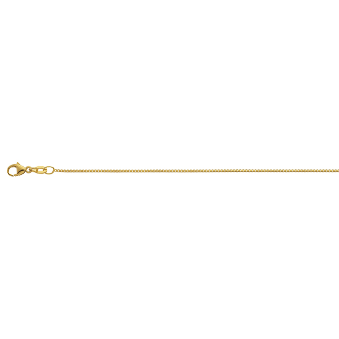 Leo MartyVenezianerkette Gelbgold 42cm