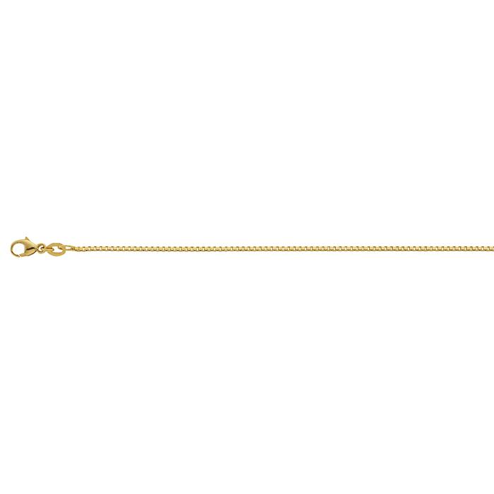 Leo MartyVenezianerkette Gelbgold 42 cm