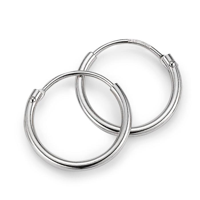 Schmuck Netz Werk AG – Ohrringe Silber Ø ca. 13 mm – 525954