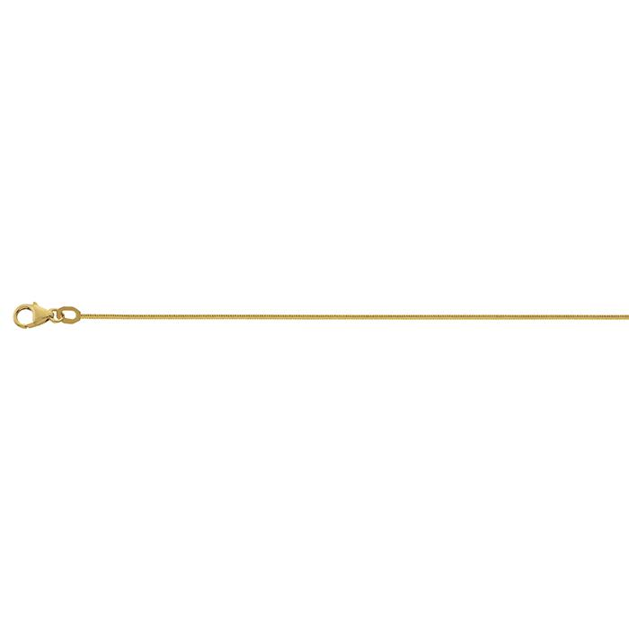 Leo Marty Schlangenkette Gelbgold 45cm