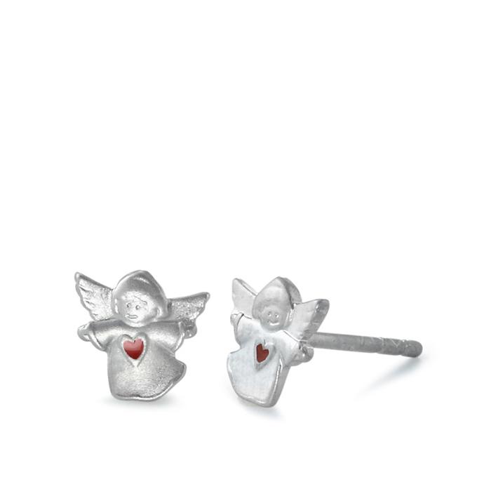 Schmuck Netz Werk AG – Ohrringe Silber Schutzengel mit Herz – 572738