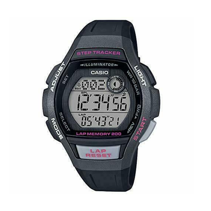Casio Classic Collection Sports Black Resin Ladies – LWS-2000H-1AVEF
