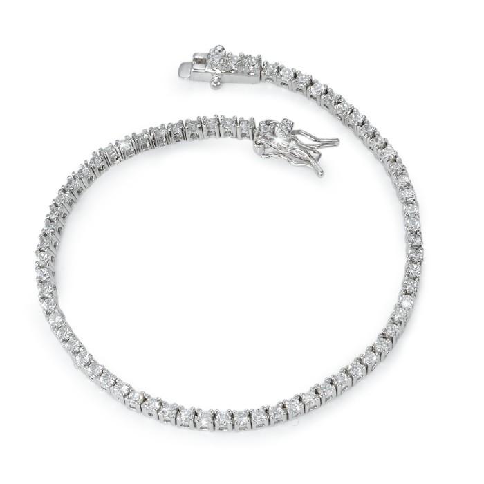 Schmuck Netz Werk AG – Armband Silber Zirkonia – 567908