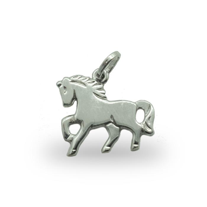 Silber Anhänger Pferd