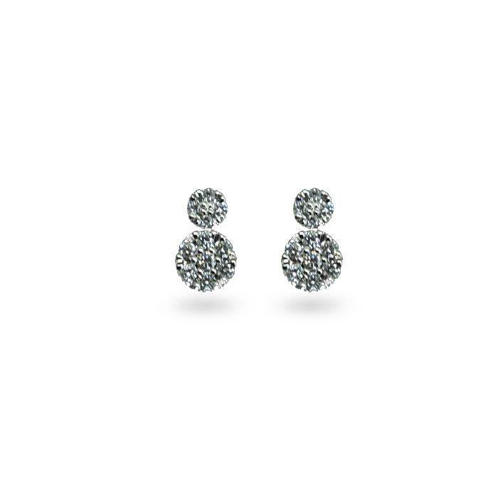 Pfalzer H. & Co. Weissgold mit Diamanten