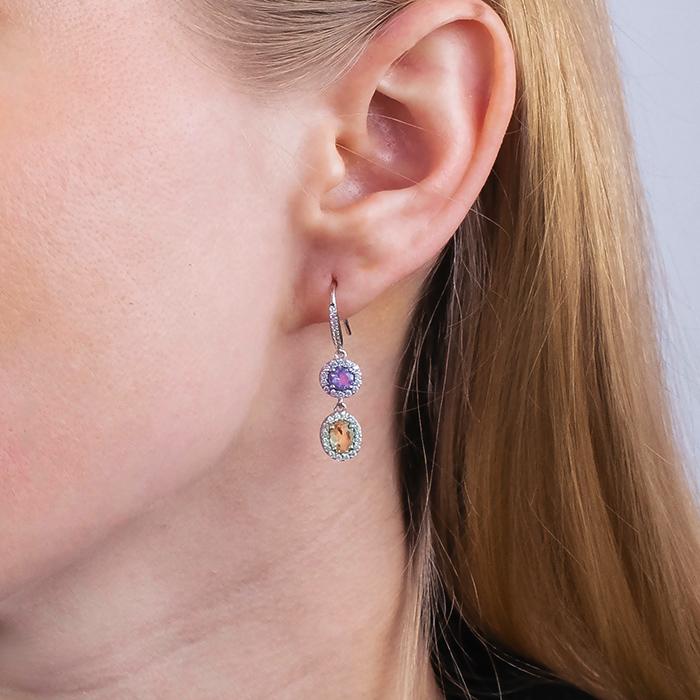 Naiomy Silber – Ohrringe N6E07