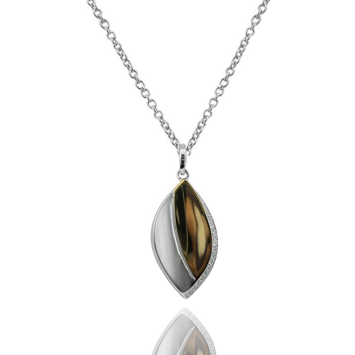 H. Pfalzer & Co. AG Halskette mit Anhänger Silber