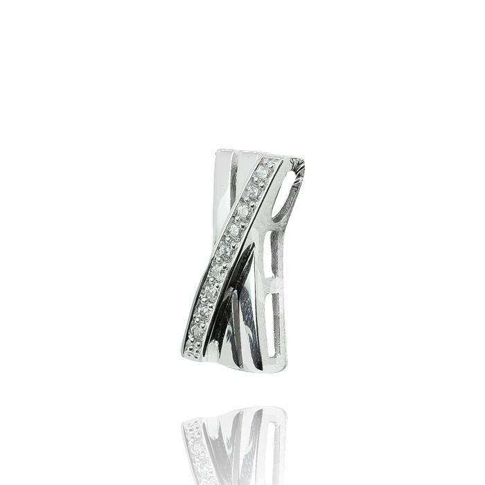 H. Pfalzer & Co. AG Halskette mit Anhänger Silber rhodiniert