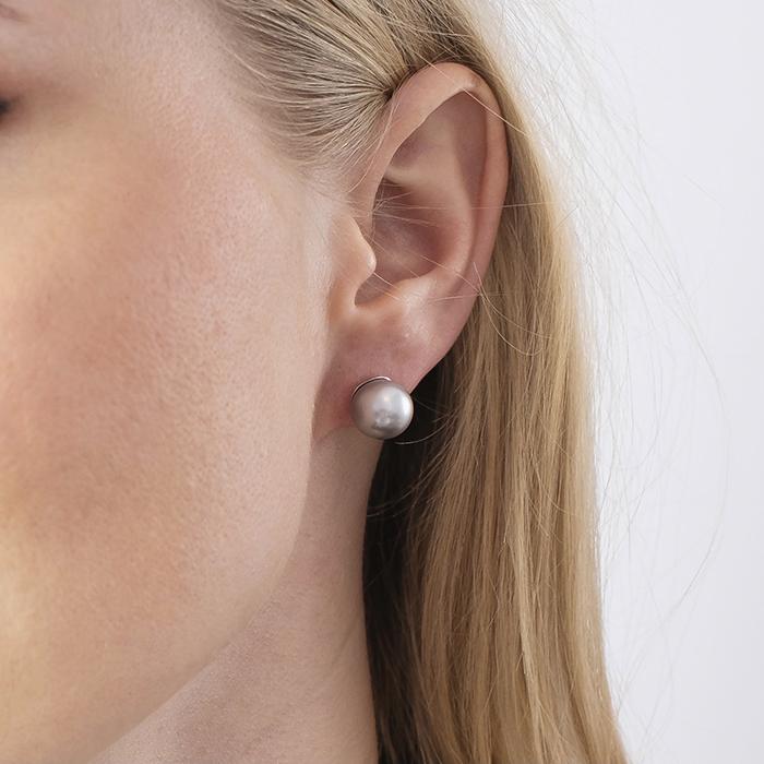 M-Pearl Design – Perlenohrringe Gold