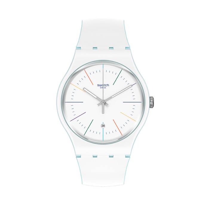 SWATCH – WIHTE LAYERED – SUOS404