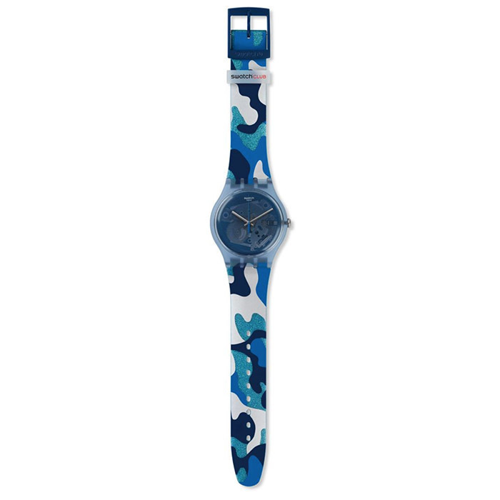 SWATCH – SILVERSCAPE – SUOZ215