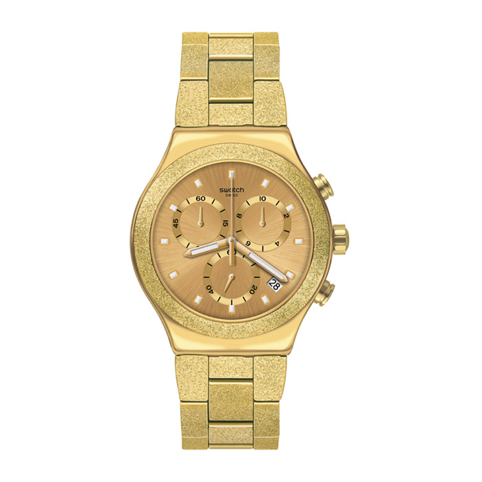 SWATCH – IRONY GOLDSHINY – YVG407G