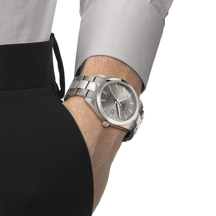Tissot Gentleman Titanium Grau – T127.410.44.081.00