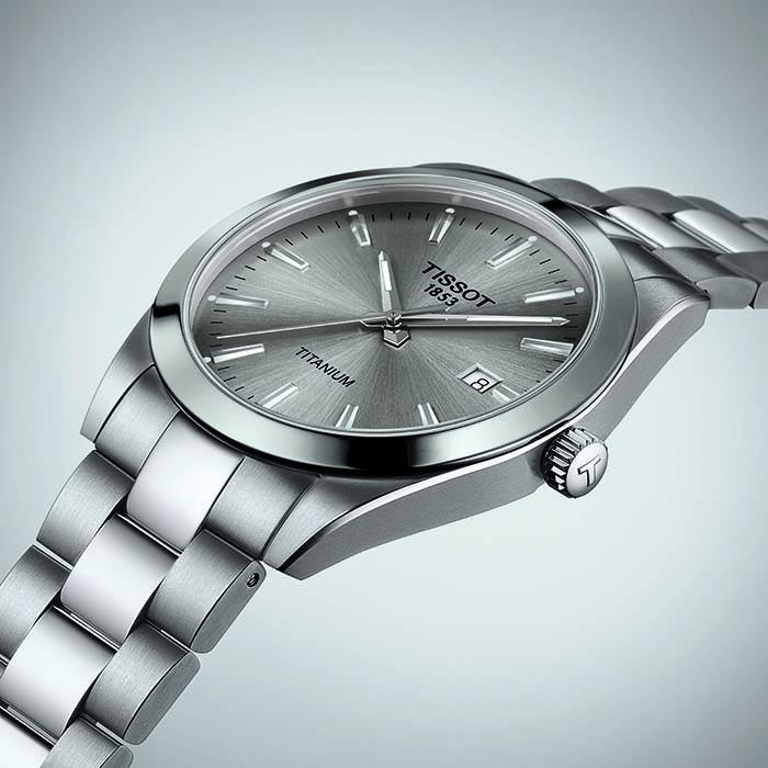 Tissot Gentleman Titanium Grau – T127.410.44.081.00 2