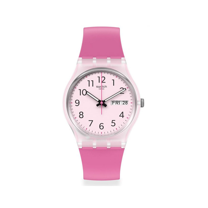 SWATCH – RINSE REPEAT PINK – GE724