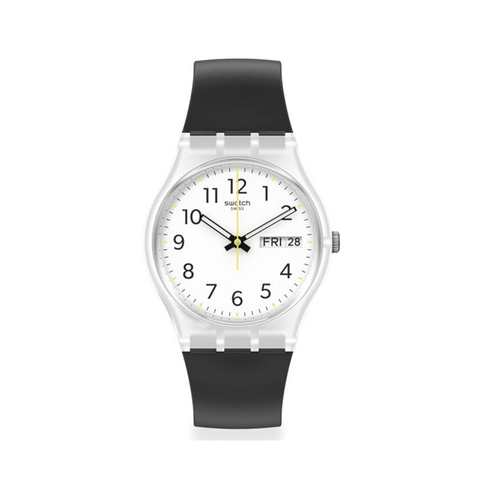 SWATCH – RINSE REPEAT BLACK – GE726