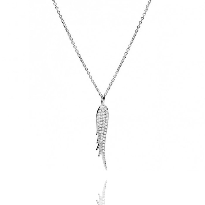 Fossil Sterling Silver Halskette – JFS00535040