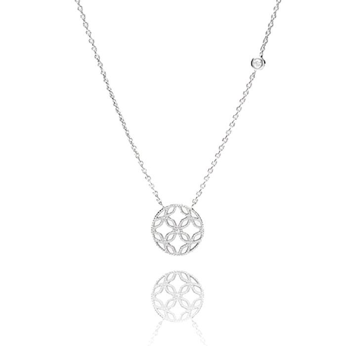 Fossil Sterling Silver Halskette – JFS00527040