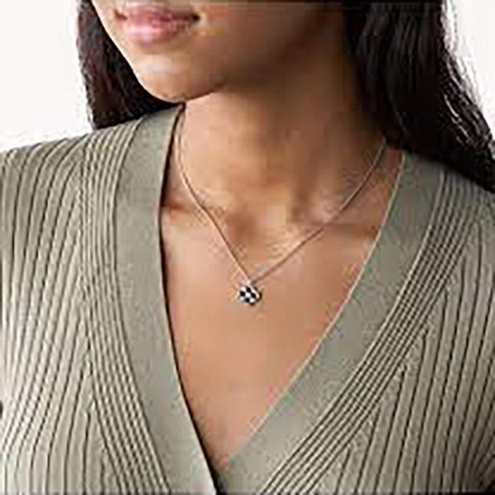 Fossil Sterling Silver Halskette – JFS00528040
